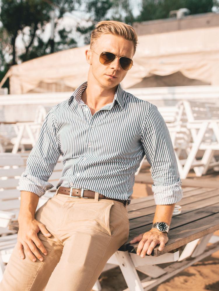 Chinos - snygga byxor till män